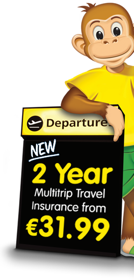 Multitrip.com, Travel Insurance Ireland, Cheap Travel Insurance Online Quote, Mascot Marvin