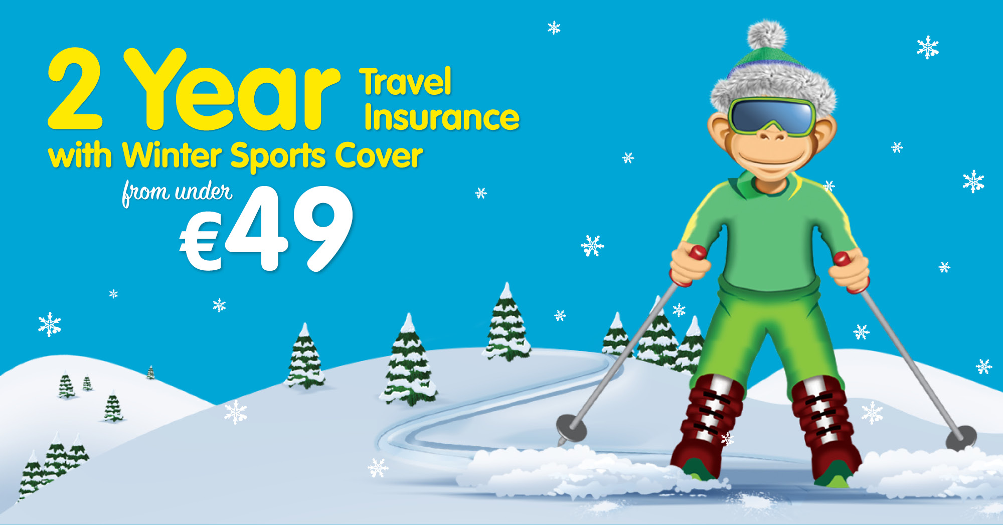 2 Year Travel Insurance with Winter Sports Cover